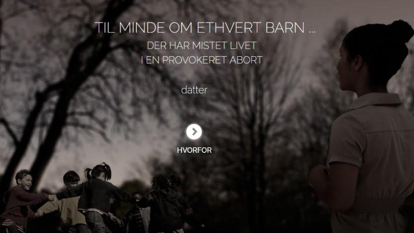 Abortbarnet.dk 2013