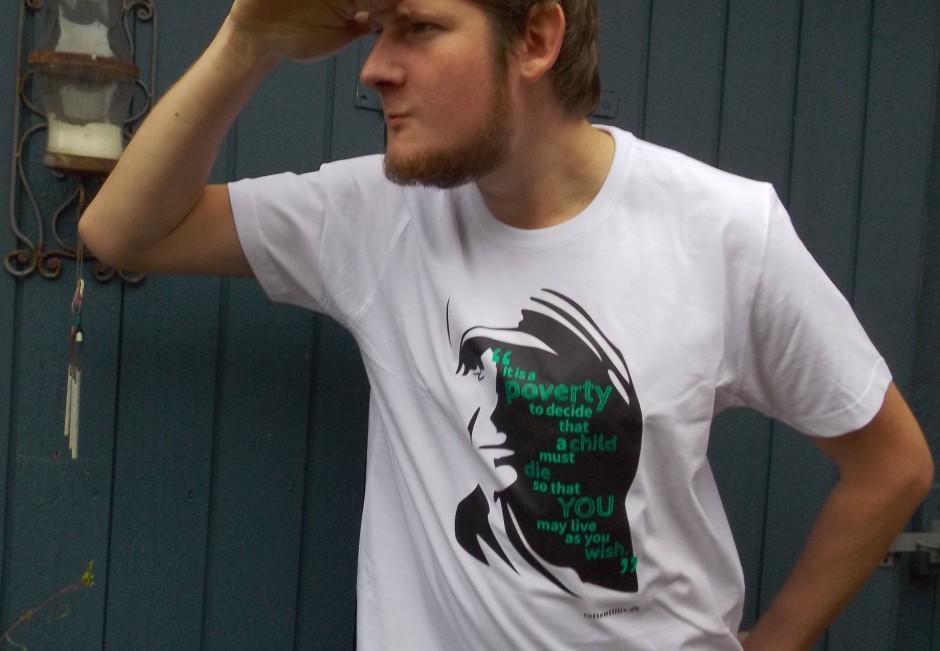 T-shirt: 'Mother Teresa' (herre)