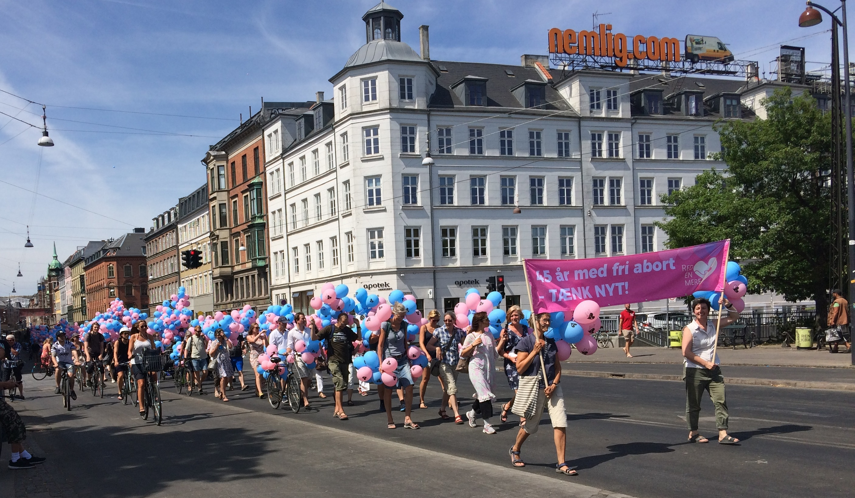 Retten til Liv aktion 2018 i København