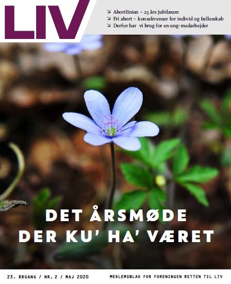 Retten til Livs medlemsblad LIV