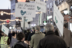 Procession Retten til Liv 20.11.2020