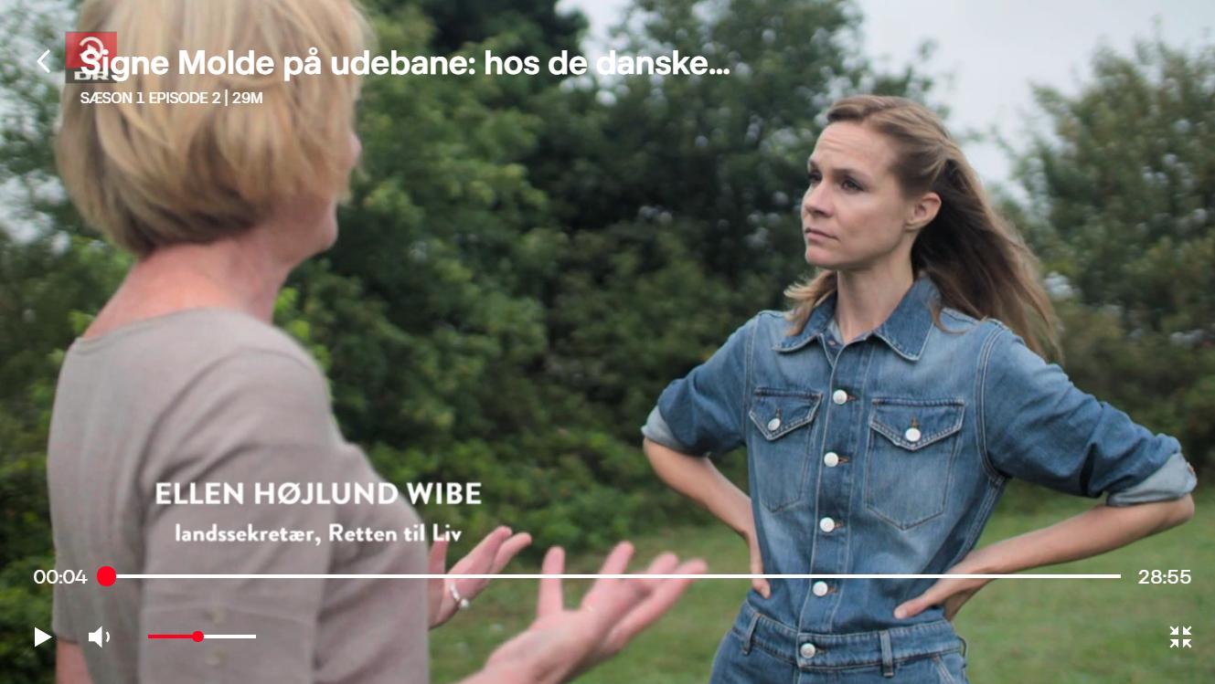 Signe Molde på udebane